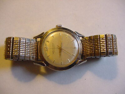 Seth Thomas 10K Gold Filled Automatic Watch Parts