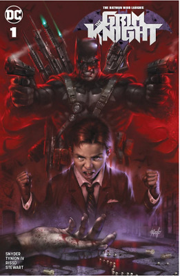 Batman Who Laughs The Grim Knight #1 Parrillo Variant Dc Comics Joker