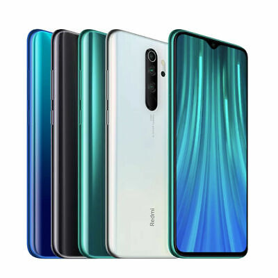 "Xiaomi Redmi Note 8 Pro 64Gb-6Gb Ram Unlocked Dual Sim 6.5"" 64Mp Green"