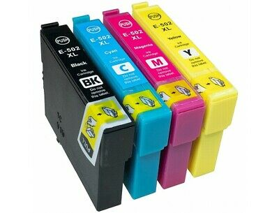 Ink Cartridge fits Epson WF-2860DWF XP-5100 WF-2865DWF XP-5105 502XL Non-OEM lot