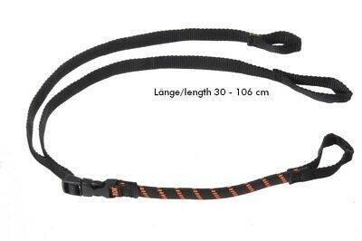 Rokstraps Strap It™ Pack Adjustable *schwarz-orange* 30-106 cm 2 St. Gurt Spanng