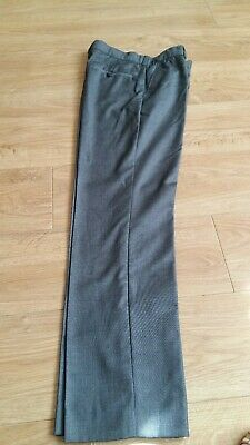 Boys John Lewis Grey Trousers Age 12 152cms  Adjustable waist - Pre-owned