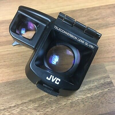 JVC GL-V9U Teleconversion Camcorder Lens Video Camera Accessories Black