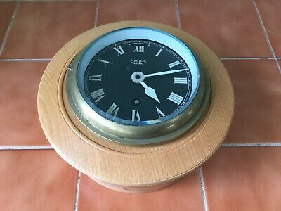 Smiths Astral Submarine Ships bulkhead clock with bespoke case - Unusual