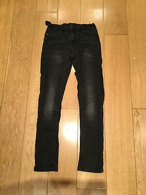 BNWT Boys Blue Zoo Super Skinny Black Jeans - Age 12