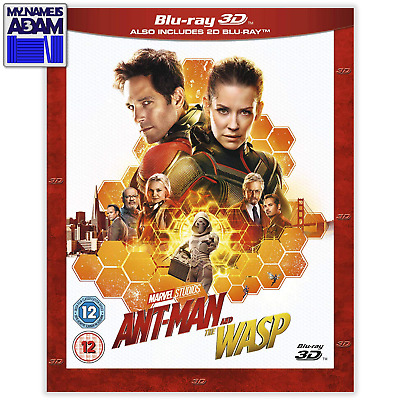 ANT-MAN AND THE WASP Blu-ray 3D + 2D (REGION-FREE)