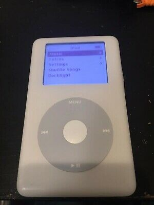 Apple iPod classic 4th Generation 20GB White W New Battery