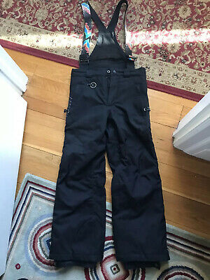Spyder Insulated Ski Snow Suspender Bib Pants Kids Boys Size 10