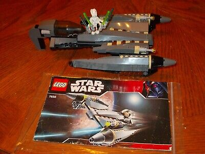LEGO STAR WARS 7656 GENERAL GRIEVOUS STAR FIGHTER complete with instructions