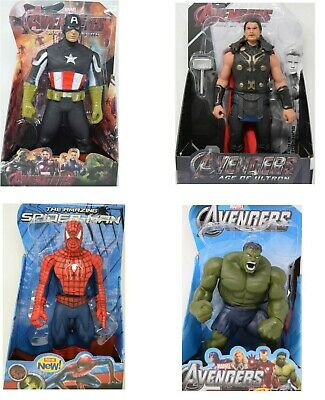 "12"" Action Figure Super Hero Avengers Series - Choice Of 4 Super Heroes - New"