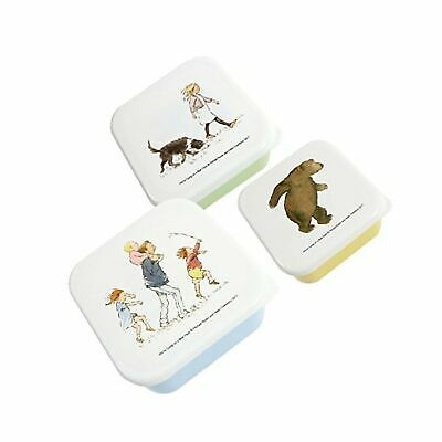 Set of 3 Snack Boxes - We're Going On A Bear Hunt - 3 nested snack pots for k...