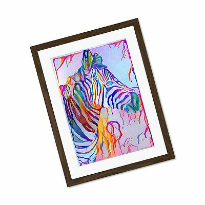 ART PRINT POSTER PAINTING DRAWING ABSTRACT ZEBRA DESIGN STRIPES LFMP0390