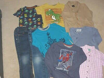 NEXT boys 4-5 years jeans, t shirt, jumper bundle
