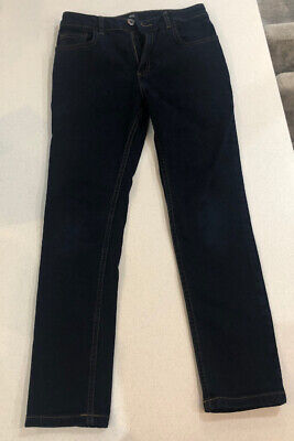 River Island Boys Dark Blue Skinny Jeans Age 9 Years