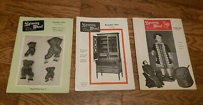 Sept, Nov, Dec 1964/Spinning Wheel-/Antique  Magazine