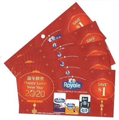 12x Save $1.00 on Royale Products NEW Coups April 30 2020 (Canada)