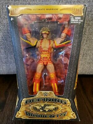WWE Defining Moments Ultimate Warrior Elite Tag Team Maniacs Wrestling Toy Gift!