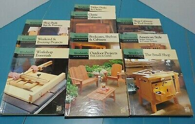 Woodsmith Custom Woodworking books by Oxmoor House 10 volumes see list