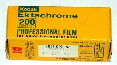 Kodak 120 Ektachrome Professional Film-- Vintage And Collectible!