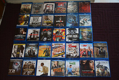 Lot #4 BluRay Movies Various Titles(OVER 55 TITLES TO PICK THROUGH) You Pick !!