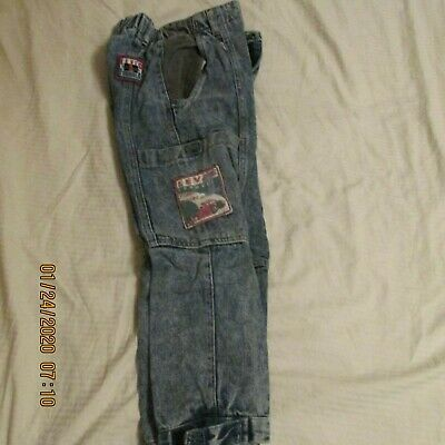 VINTAGE  Little Levis Boys Jeans Size 3 T DENIM Blue