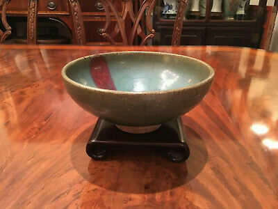 An Excellent Chinese Song/Yuan Style Junyao Glazed Bowl #2.