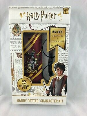 Harry Potter - Character Costume Accessories Kit - Necktie - Eyeglasses - NEW