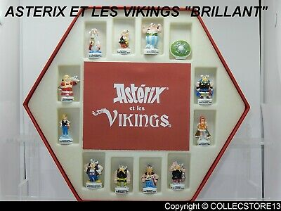 Serie Complete De Feves Asterix Et Les Vickings  En Coffret