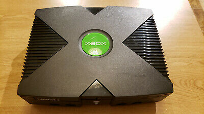 Microsoft Original Xbox NOT WORKING FOR PARTS OR REPAIR FREE SHIPPING
