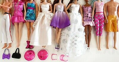 Genuine Barbie & Other Fashion Doll Outfits/Clothes & Accessories, Shoes, Bags