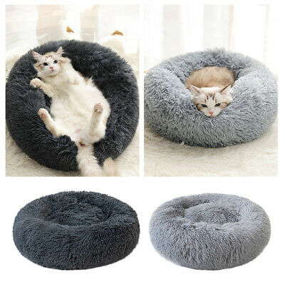 XL Dog Pet Cat Calming Bed Large Mat Comfy Puppy Washable Fluffy Cushion Plush