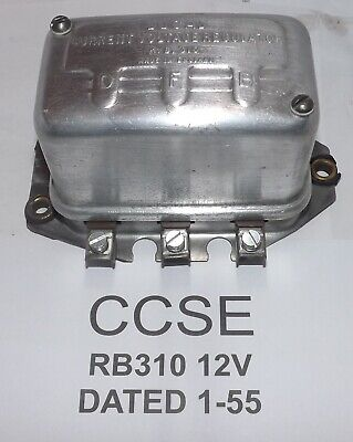 Genuine Lucas Rb 310 12V  Date 1-55 Rebuild With Guarantee