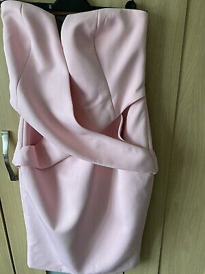 Finders Keepers Inbetween Days Draped Bustier Pink size XS,S RRP£125......