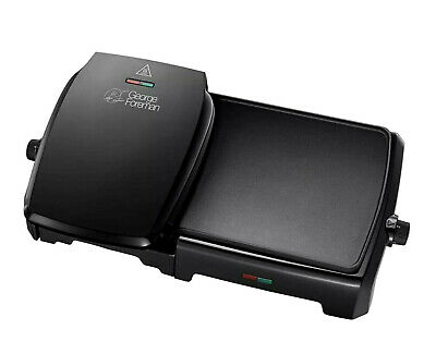 George Foreman 23450 10 Portion Grill and Griddle (Black)