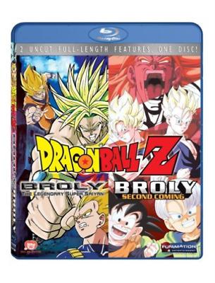 DRAGON BALL Z: BROLY DOUBLE...-DRAGON BALL Z: BROLY DOUBLE FEATURE  Blu-Ray NEUF