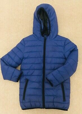 Florence and Fred Boys Blue Padded Jacket - Age 7-8