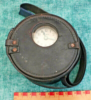 Vintage Night Watchmans Clock By Blick ~ Working