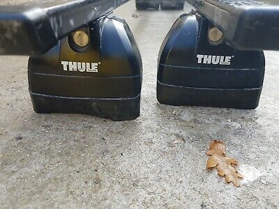 Used Pair Thule Roof Bars Roof Rack Fits Audi A6 C6 With Roof Rails