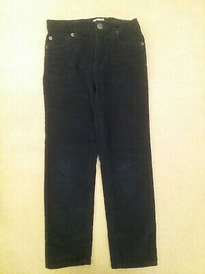 💙 John Lewis Boys Navy Cord Trousers Age 7 Years 💙