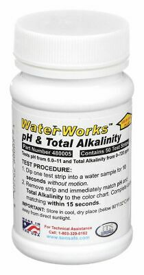 Industrial Test Systems Test Strips  50 PK Testing Parameter: pH and Total