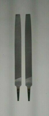 Qty 2 Of Nicholson 10 Inch Mill Smooth File 6A629 #08704