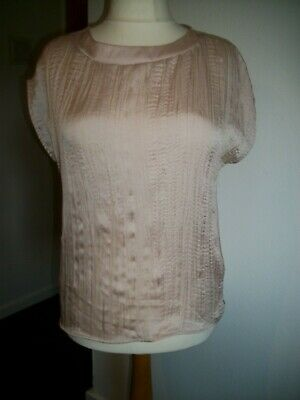 Size 12 From Per Una At Marks And Spencer Pale Pink Silky Type Top