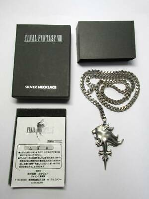 Final Fantasy VIII 8 SQUARE Sterling Silver Sleeping Lion Heart Necklace