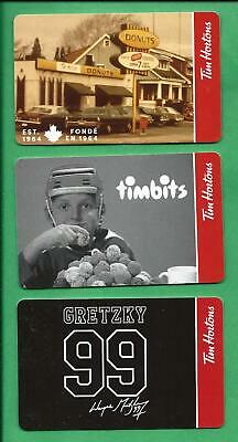 2020 Tim Horton Canada Timbits Gretzky Gift Cards   No  Value