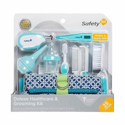 NEW 2020 1st Deluxe 25-Piece Baby Healthcare and Grooming Kit (Arctic Blue)