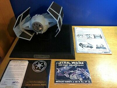Code 3 Collectibles Star Wars Darth Vader TIE fighter Die Cast Replica