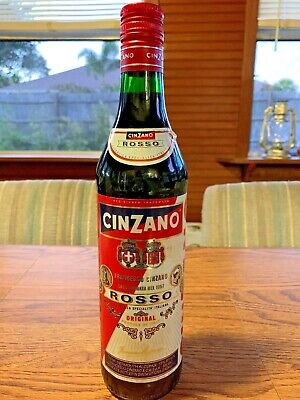 "Cinzano  Rosso Italian Vermouth Decorative 12"" Bottle"