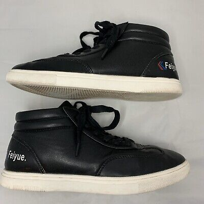 Feiyue Kung Fu Black High Top Martial Arts Shoes Sneakers 39