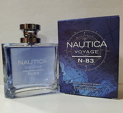 Nautica Voyage N-83 EDT Cologne Spray for Men 3.4 Oz New In The Box