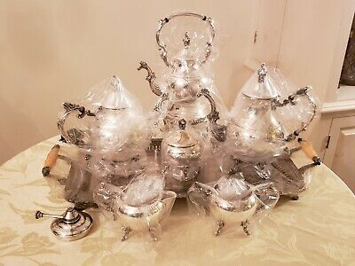 FB Rogers Silver Co 1960, 6 piece tea/coffee set,silverplate (tray not included)